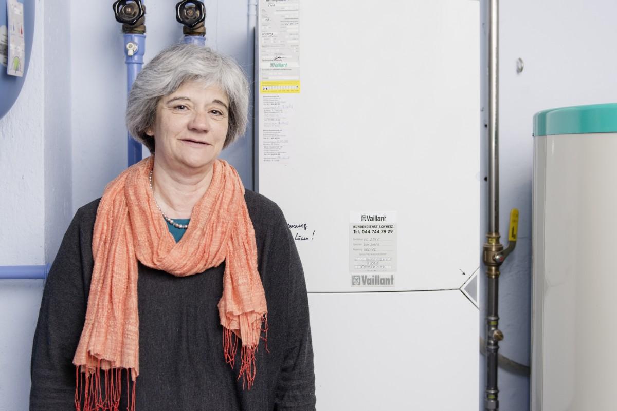 Bettina Kleiner-Weibel ist dankbar für die Vorgehensberatung der Regionalen Energieberatungsstelle.