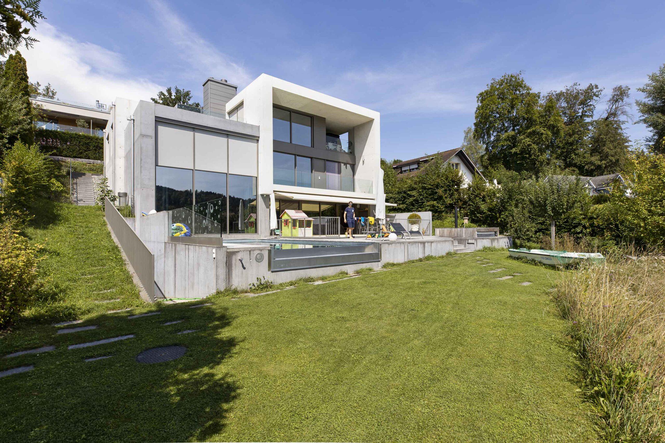 Jonas Hillers Zuhause in der Nähe von Bern.